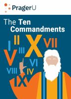 Cover image for Ten commandments : still the best moral code