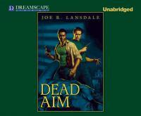 Cover image for Dead aim [sound recording CD] : Hap and Leonard novella
