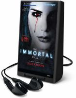 Cover image for The immortal rules. bk. 1 [Playaway] : Blood of Eden series