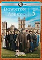 Cover image for Downton Abbey. Season 5, Complete [videorecording DVD]