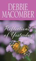 Cover image for Reflections of yesterday [large print]