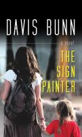Cover image for The sign painter [large print]