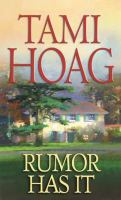 Cover image for Rumor has it [large print]