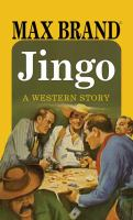 Cover image for Jingo [large print] : a western story