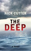 Cover image for The deep [large print]