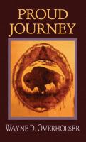 Cover image for Proud journey [large print]