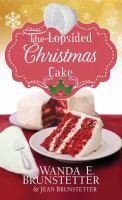 Cover image for The lopsided Christmas cake [large print]