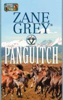 Imagen de portada para Panguitch [large print] : a Circle V Western