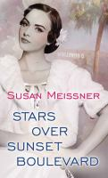 Cover image for Stars over Sunset Boulevard [large print]