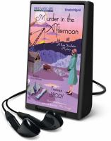 Cover image for Murder in the afternoon. bk. 3 Kate Shackleton mystery series