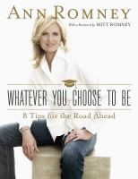 Cover image for Whatever you choose to be : 8 tips for the road ahead
