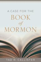 Cover image for A case for The Book of Mormon