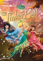 Cover image for Tinker Bell and the flying monster. bk. 19 [graphic novel] : Disney fairies series