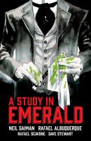 Cover image for Neil gaiman's a study in emerald