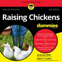 Cover image for Raising chickens for dummies 2nd edition