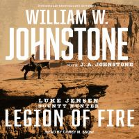 Cover image for Legion of fire. bk. 6 [sound recording CD] : Luke Jensen, bounty hunter series