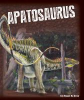 Cover image for Apatosaurus