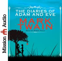 Cover image for The diaries of adam and eve