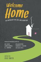 Cover image for Welcome home : an anthology on love and adoption