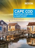 Cover image for Moon Cape Cod, Martha's Vineyard & Nantucket