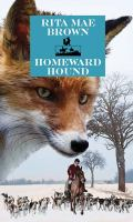 Cover image for Homeward hound. bk. 11 [large print] : Sister Jane series