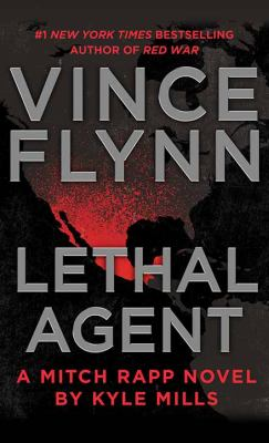 Cover image for Lethal agent. bk. 18 [large print] : Mitch Rapp series