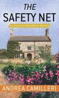 Imagen de portada para The safety net. bk. 25 [large print] : Inspector Montalbano series