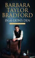 Imagen de portada para In the lion's den. bk. 2 [large print] : House of Falconer series