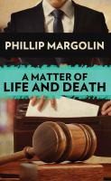 Imagen de portada para A matter of life and death. bk. 4 [large print] : Robin Lockwood series