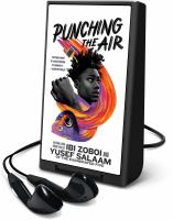 Cover image for Punching the air [Playaway]