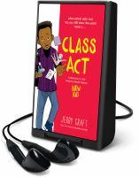 Imagen de portada para Class act [Playaway]