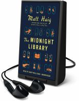Imagen de portada para The midnight library [Playaway]