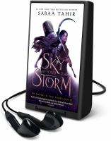 Cover image for A sky beyond the storm. bk. 4 [Playaway] : Ember in the ashes series