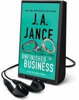 Imagen de portada para Unfinished business. bk. 16 [Playaway] : Ali Reynolds series