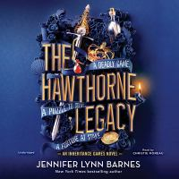Cover image for The Hawthorne legacy. bk. 2 [sound recording CD] : Inheritance games series
