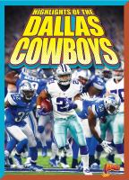 Cover image for Highlights of the Dallas Cowboys