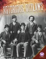 Cover image for Notorious outlaws