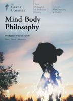 Cover image for Mind-body philosophy