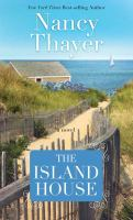 Cover image for The island house [large print]