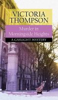 Cover image for Murder in Morningside Heights. bk. 19 [large print] : Gaslight mystery series