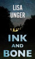 Cover image for Ink and bone [large print]