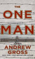 Cover image for The one man [large print]