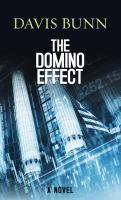 Cover image for The domino effect [large print]