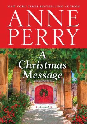 Cover image for A Christmas message [large print]