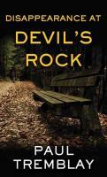 Cover image for Disappearance at Devil's Rock [large print]