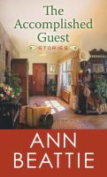 Cover image for The accomplished guest [large print] : stories