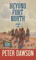 Cover image for Beyond Fort North [large print] : a Circle V western