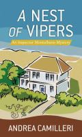 Cover image for A nest of vipers. bk. 21 [large print] : Inspector Montalbano series