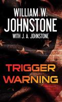Cover image for Trigger warning [large print]