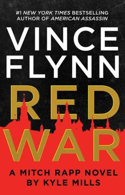 Imagen de portada para Red war. bk. 17 [large print] : Mitch Rapp series
